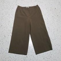 Talbots Petites Women's Capri Dress Pants ~ Sz 4 ~ Brown ~ Stretch  - $15.83