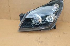 08-09 Saturn Astra Headlight Head Light Lamp Driver Left LH = POLISHED image 2