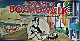 Advance To Boardwalk Parker Brothers Game of High Rises & Fast Falls) Bo... - $9.75