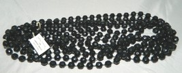 Vtg Jeffrey Lawrence By Lawrence Bentley Three Black Acrylic Beaded Necklaces - $14.85