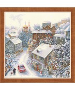 New Sealed Cross Stitch Hand Embroidery Kit Magic Christmas Moment - $25.54