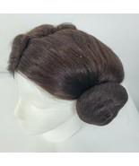 Rubies Costumes Womens Classic Princess Leia Halloween Costume Wig Buns EUC - $24.43