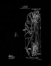 Motor-sleigh Patent Print - Black Matte - $7.95+