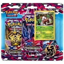 Pokemon TCG Phantom Forces Blister Pack Shiftry Promo 3 Booster Packs + ... - $17.99