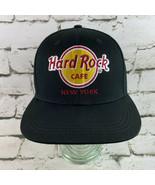 Hard Rock Cafe New York Black Snapback Ball Cap Hat - $15.84