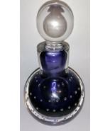 Beautiful! Vintage Murano Art Glass Controlled Bubble Perfume Bottle - P... - $39.59