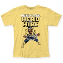 Official Marvel Comics Luke Cage Hero for Hire artwork T-shirt S-3XL top - $20.99+