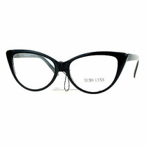 Womens Cateye Clear Lens Eyeglasses Vintage Retro Fashion Glasses - $8.95