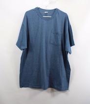 Vintage 90s Fruit of the Loom Mens 2XL XXL Short Sleeve Blank Pocket T Shirt  - $27.67