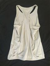 Adidas USA Women Ladies Tennis Tank Top Gray Climalite Small Running Yoga A image 2
