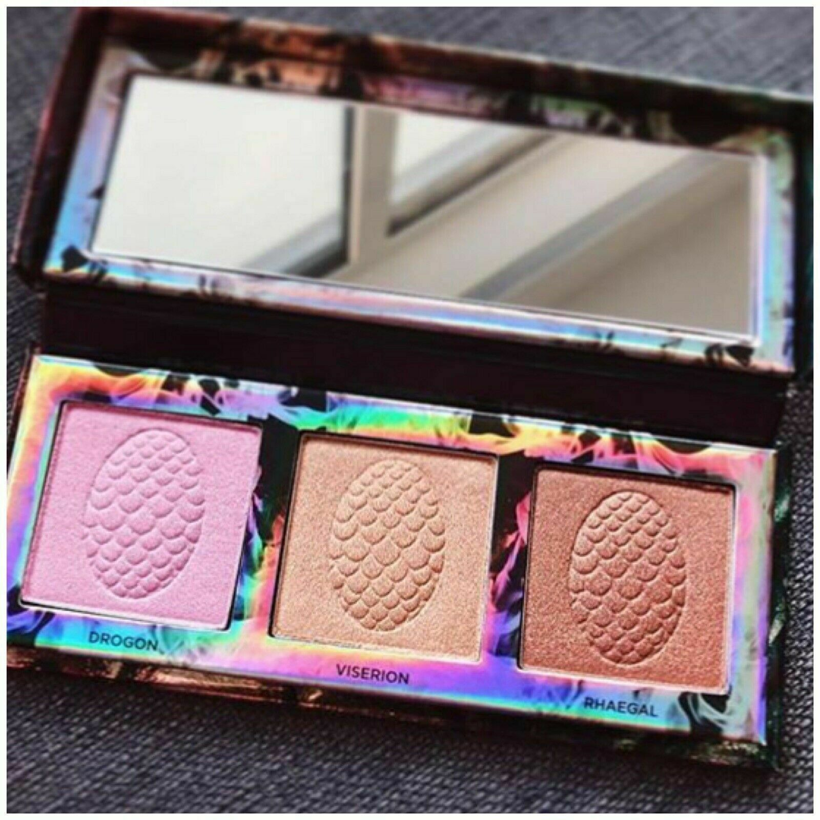 URBAN DECAY Game of Thrones Mother of Dragons Highlighter Bronzer Palette 3X NIB - $64.50