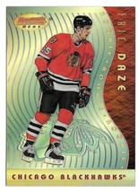1995-96 Eric Daze Bowman's Best Rookie Refractor - Chicago Blackhawks - $4.74