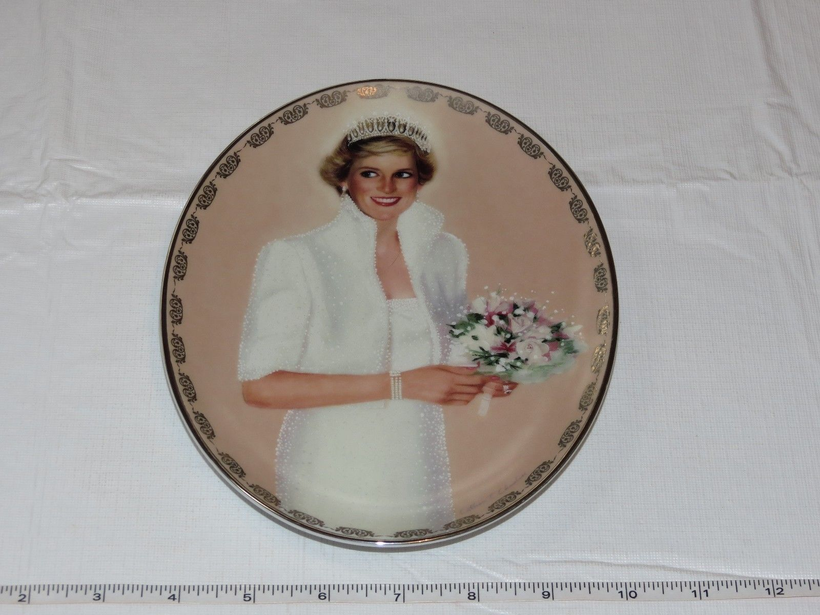 Primary image for 1997 Bradford Exchange Our Royal Princess Diana Plate Queen of Our Hearts ~
