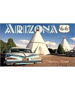 "Route 66 Arizona ""Wigwam Motel"" Magnet #1 - $7.99"