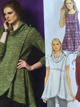Butterick Sewing Pattern 5954 Ladies Misses Tunic Size L-XXL 16-26 Easy New - $15.78