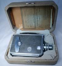 KEYSTONE Executive K51 Vintage 16mm Film Movie Camera Wollensak Raptar L... - $109.80