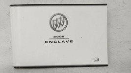 2008 Buick Enclave Owners Manual 52611 - $26.05