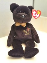 "Ty Beanie Babies ""The End"" Bear Rare 1999 w/Errors Retired PE Pellets w/... - $18.76"