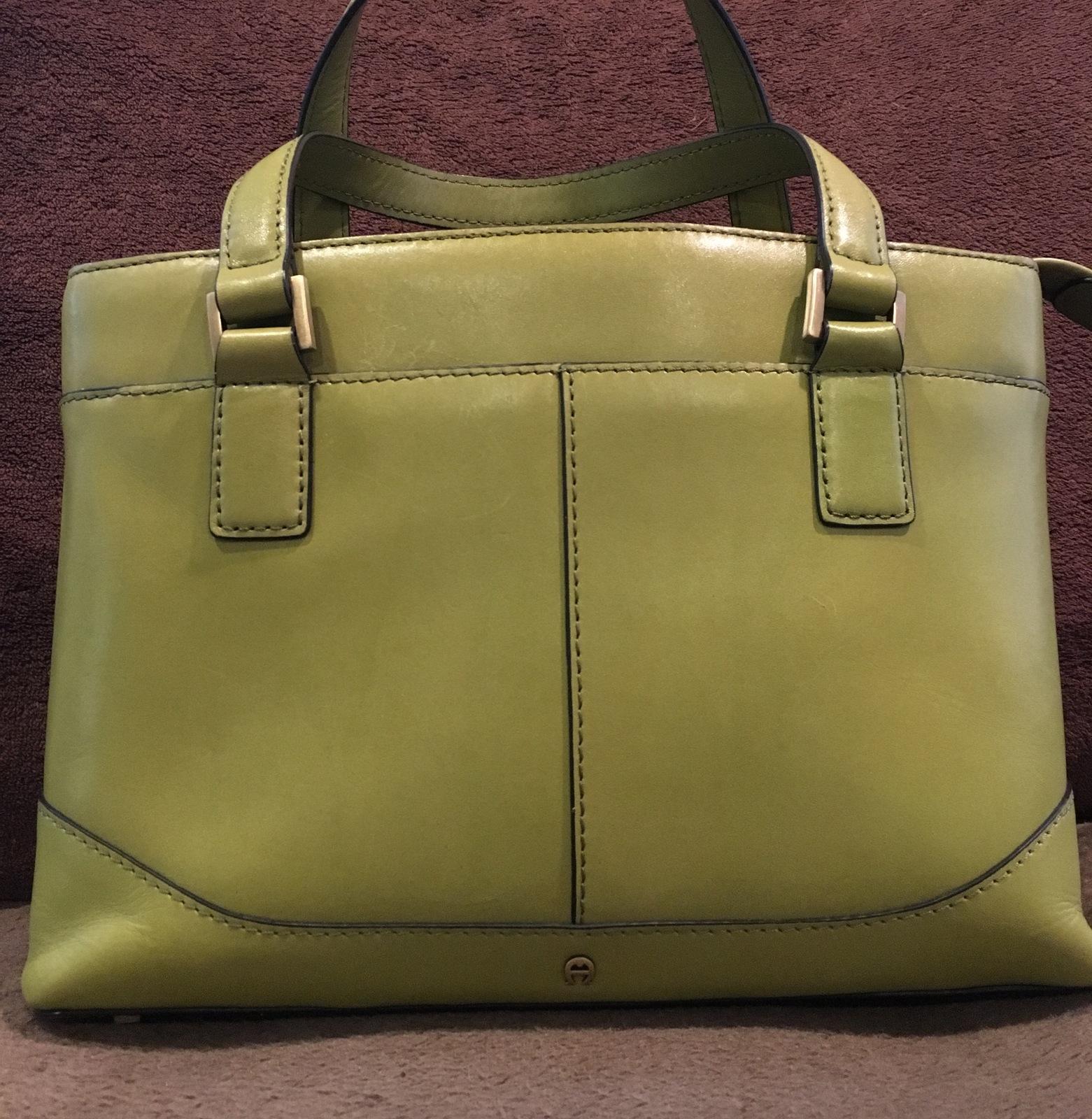 Etienne Aigner Leather Handbag Vintage and 40 similar items. Image 773638d610db6