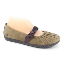 Born Mary Jane Flats Brown Leather Womens Size 7.5 - $23.38