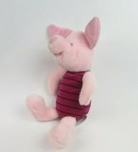 "Walt Disney Winnie The Pooh Plush Piglet 12"" Soft Lovey Pink - $9.41"