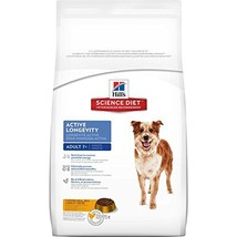 Hill'S Science Diet Senior Dog Food, Adult 7+ Active Longevity Chicken Meal Rice