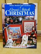 Better Homes and Gardens A Cross Stitch Christmas 1996 Gifts to Cherish Hardback - $11.08