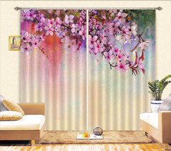 3D Flowers 520 Blockout Photo Curtain Printing Curtains Drapes Fabric Window CA - $147.54+