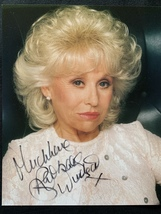 Dame Barbara Windsor Hand-Signed Autograph 8x10 With Lifetime Guarantee - $100.00