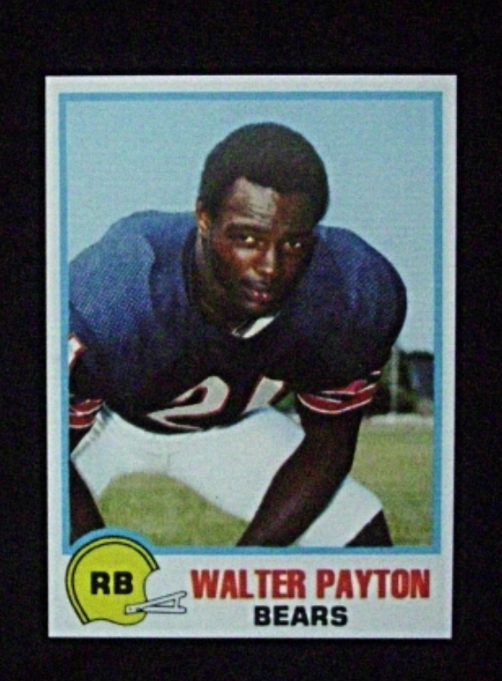 1978 Topps Holsum Football #2 Walter Payton [Chicago Bears] Repro