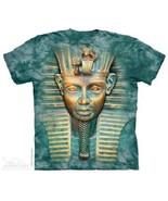 The Mountain Grande Faccia Re Tut Egitto Faraone Egiziano Pyramid Maglietta - $19.66+