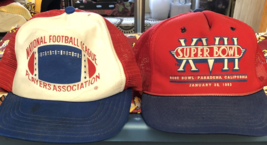 TWO RARE CAPS-NFL Players Association & Super Bowl XVII-Adjustable - $24.95