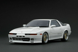 Ignition Model IG1737 1/18 TOYOTA Supra 3.0GT turbo A MA70 Pearl White - $340.55