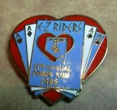 Harley-Davidson Easyriders Las Vegas 11th annual poker run lapel pin - $6.75