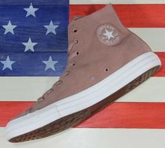 Converse Chuck Taylor Sample ALL-STAR Hi Light Brown Nubuck Shoe [159749C] Men 9 - $62.22