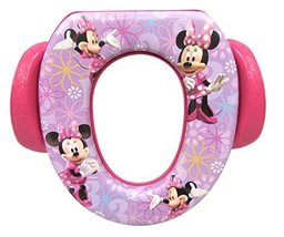 "Disney Minnie Mouse ""Bowtique"" Soft Potty Seat, Purple - $29.99"