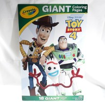 Toy Story 4 Crayola 18 Coloring Pages - $16.99