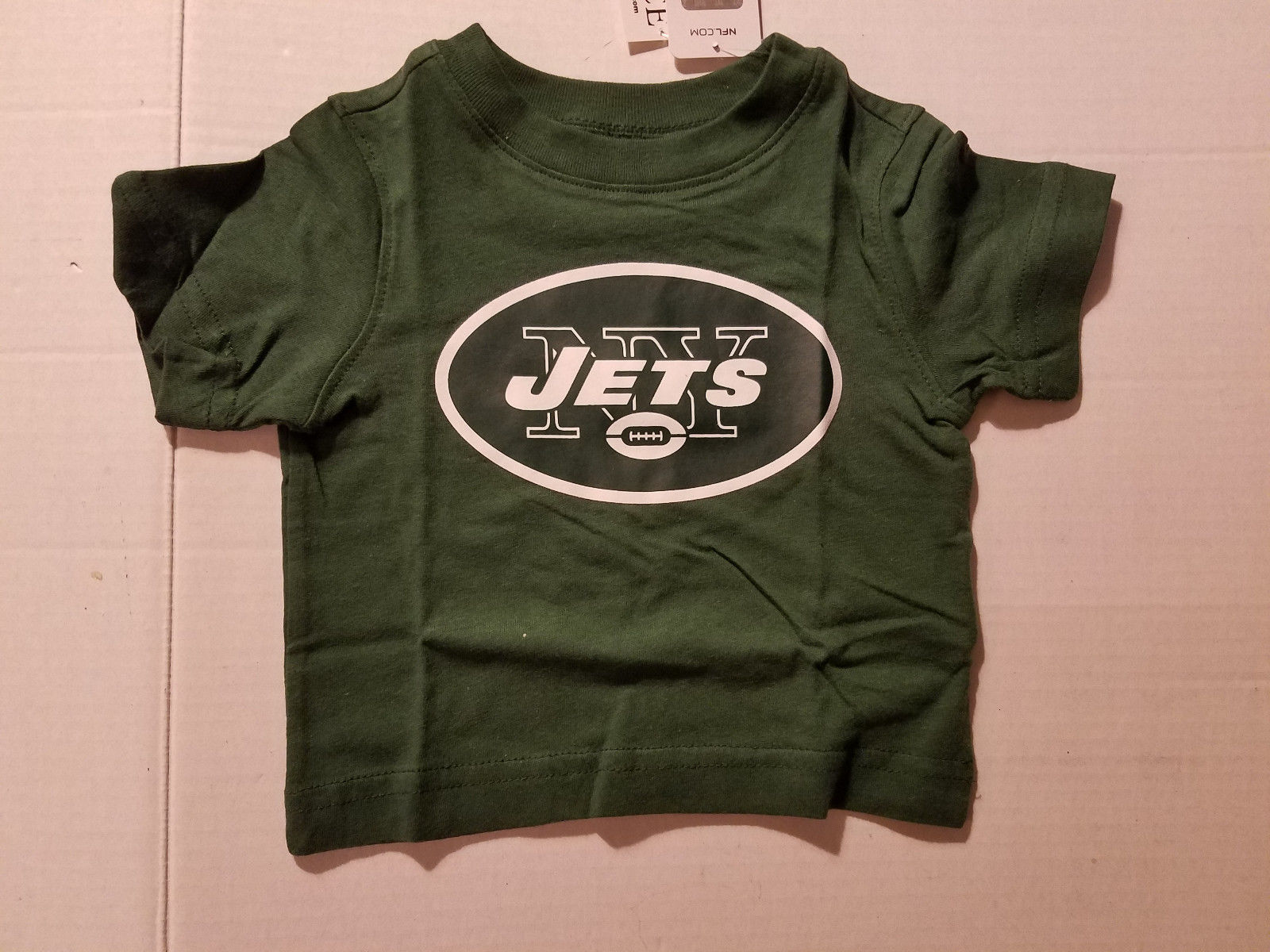 NFL TEAM  New York Jets Toddler Sizes 6-9 M 9-12M  12-18M T-Shirt NWT