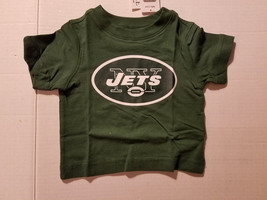 NFL TEAM  New York Jets Toddler Sizes 6-9 M 9-12M  12-18M T-Shirt NWT  - $11.04