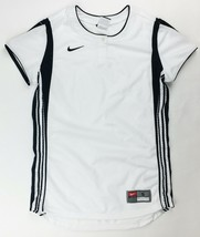 Nike Striped Performance Henley Vented Softball Jersey Women's Small Whi... - $19.30