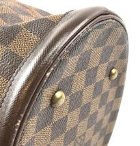 #31746 Louis Vuitton Bucket Marais Hobo Pm Tote Damier Ébène Canvas Shoulder Bag image 9