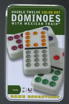 Cardinal Ind - 91 Double Twelve Color Dot - Mexican Train Dominoes (282) - $16.82