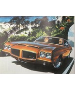Car Advertisement Magazine GTO Cruising 11 X 8 1/4 - $9.97