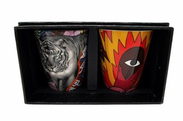 Starbucks Coffee Stories Set with Tristan Eaton and Ricardo Cavolo 3 Oz ... - $40.98
