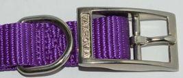 Valhoma 730 18 PR Dog Collar Purple Single Layer Nylon 18 inches Package 1 image 3