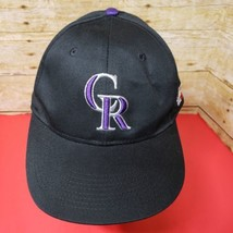 New Mlb Colorado Rockies Hat Logo Black Team Logo Baseball Cap - $9.74