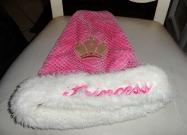 Pink faux fur Princess Christmas Santa Hat from Kool Kids - €7,98 EUR