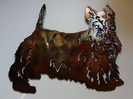 Scottish Terrier Metal Wall Art Decor - $13.99