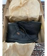 BNIB KEEN Eastin Leather Boots, Men, Casual, Black, Size 9.5M, B1021219 - $118.80