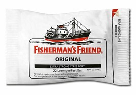 6x Fisherman's Friend Original Extra Strong Cough Suppressant Lozenges 1... - $16.88